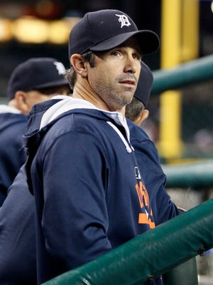 Manager Brad Ausmus of the Detroit Tigers.