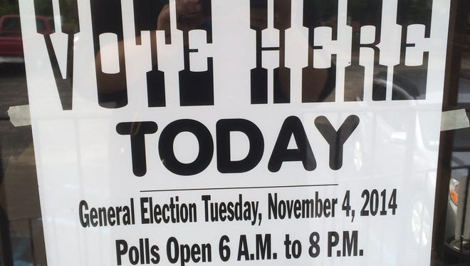 Follow the Courier-Post staff when Election 2014 polls close at 8 p.m.