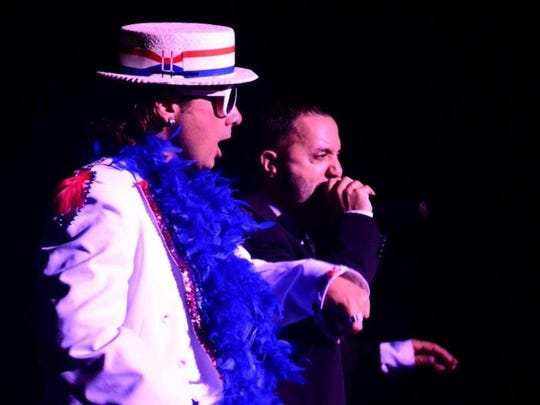 "Marvel as two icons come together for one night with ""Face 2 Face: A Tribute to Sir Elton John and Billy Joel,"" scheduled for April 15 at the Maltz Jupiter Theatre in Jupiter."