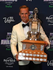 Predators goalie Pekka Rinne won the Vezina Trophy at the 2018 NHL Awards.
