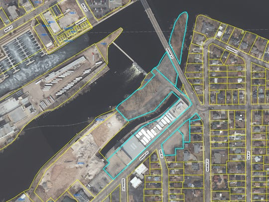 The Menasha Redevelopment Authority purchased the former