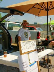 The Fairview Farmers Market offers a variety including raw honey.