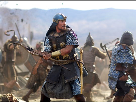 "Christian Bale stars as Moses in ""Exodus: Gods and Kings."""