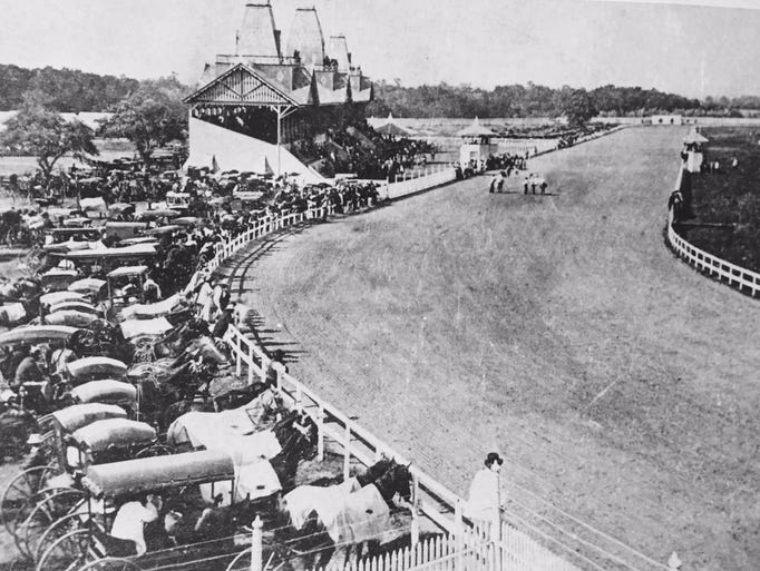 The old Monmouth Park race track, located in Long Branch,