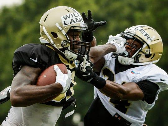 New Orleans Saints wide receiver Jordan Williams-Lambert
