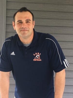 Mark Maggio is just the tenth head football coach in Lodi High School history dating back to 1935.