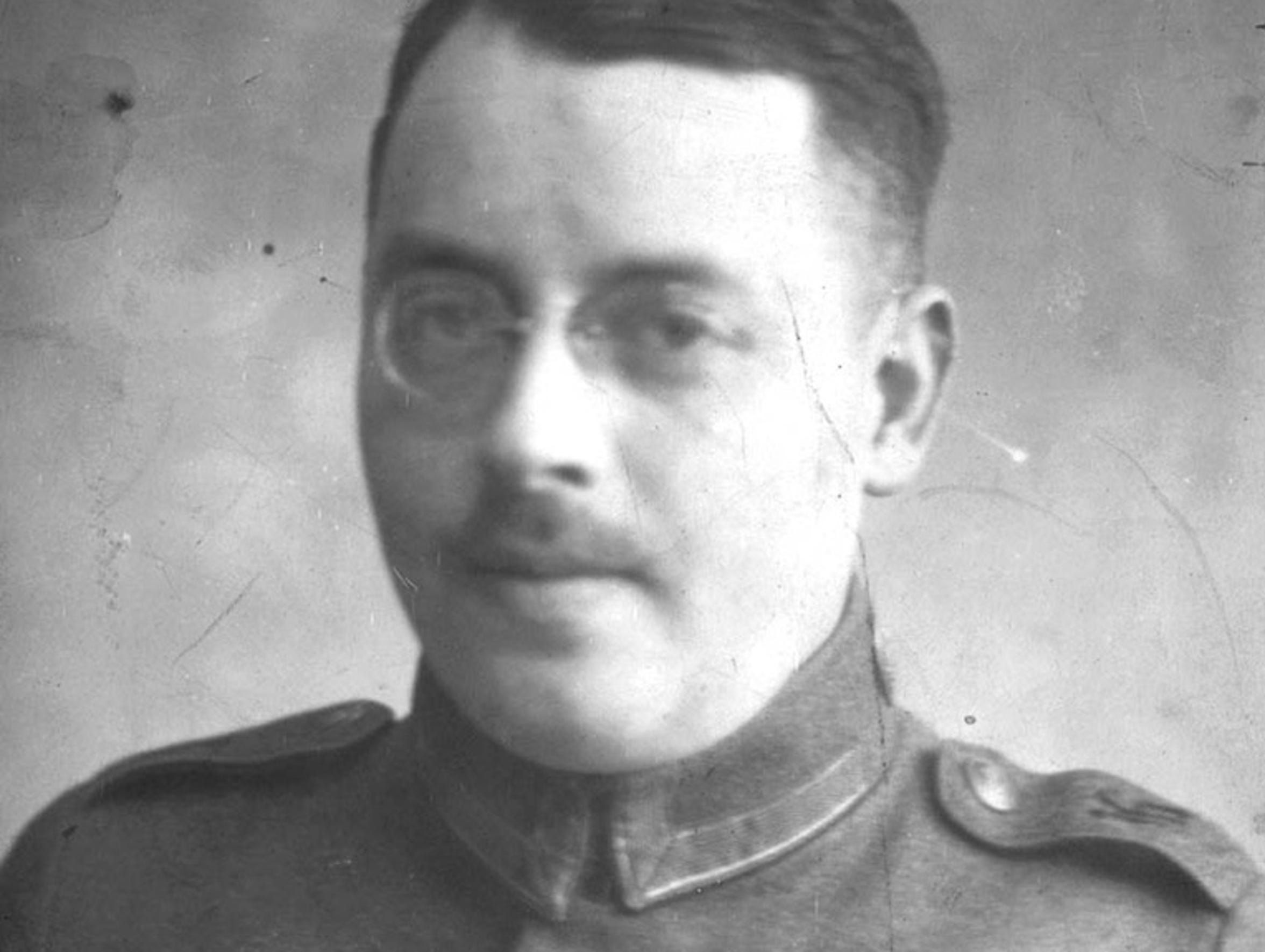 Fritz Grunewald served in the German army during World