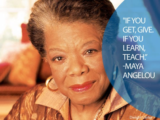 Image of: Sayings Maya Angelous Usa Today 22 Life Quotes From Famous American Women
