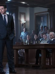"""Robert Downey Jr. and Billy Bob Thornton star in """"The Judge."""""""