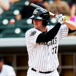 Andy Wilkins homered on Friday in the game two loss