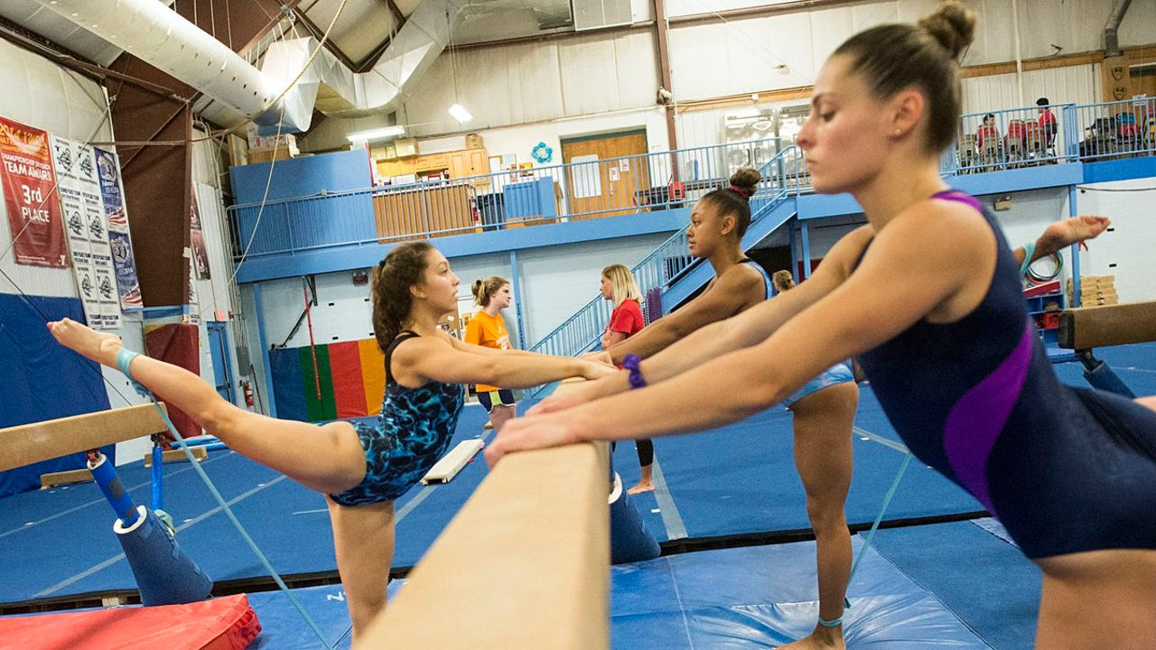 Hanover YMCA gymnasts Jacob Cooke and Chloe Asper talk about the sport and being coached by former Korean Olympian Minyoung Kwon.