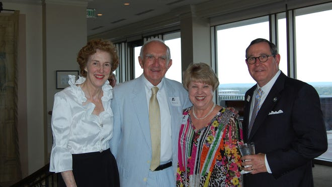 Elmore and Jim Inscoe, with Judy and Al Head, Executive Director of the Alabama State Council on the Arts at the council's 50th anniversary celebration and reunion dinner.