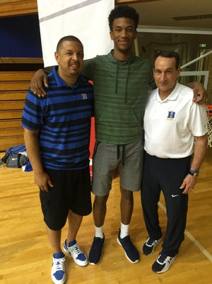 Marvin Bagley took an unofficial visit to Duke last week, meeting Mike Krzyzewski and assistant coach Jeff Capel.