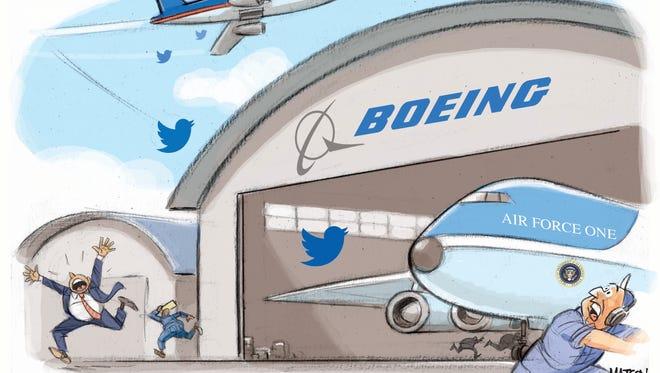 Trump Tweets Boeing Over Air Force One