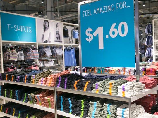 Primark, a European retailer opening at Freehold Raceway Mall in Freehold Township, specializes in low prices.
