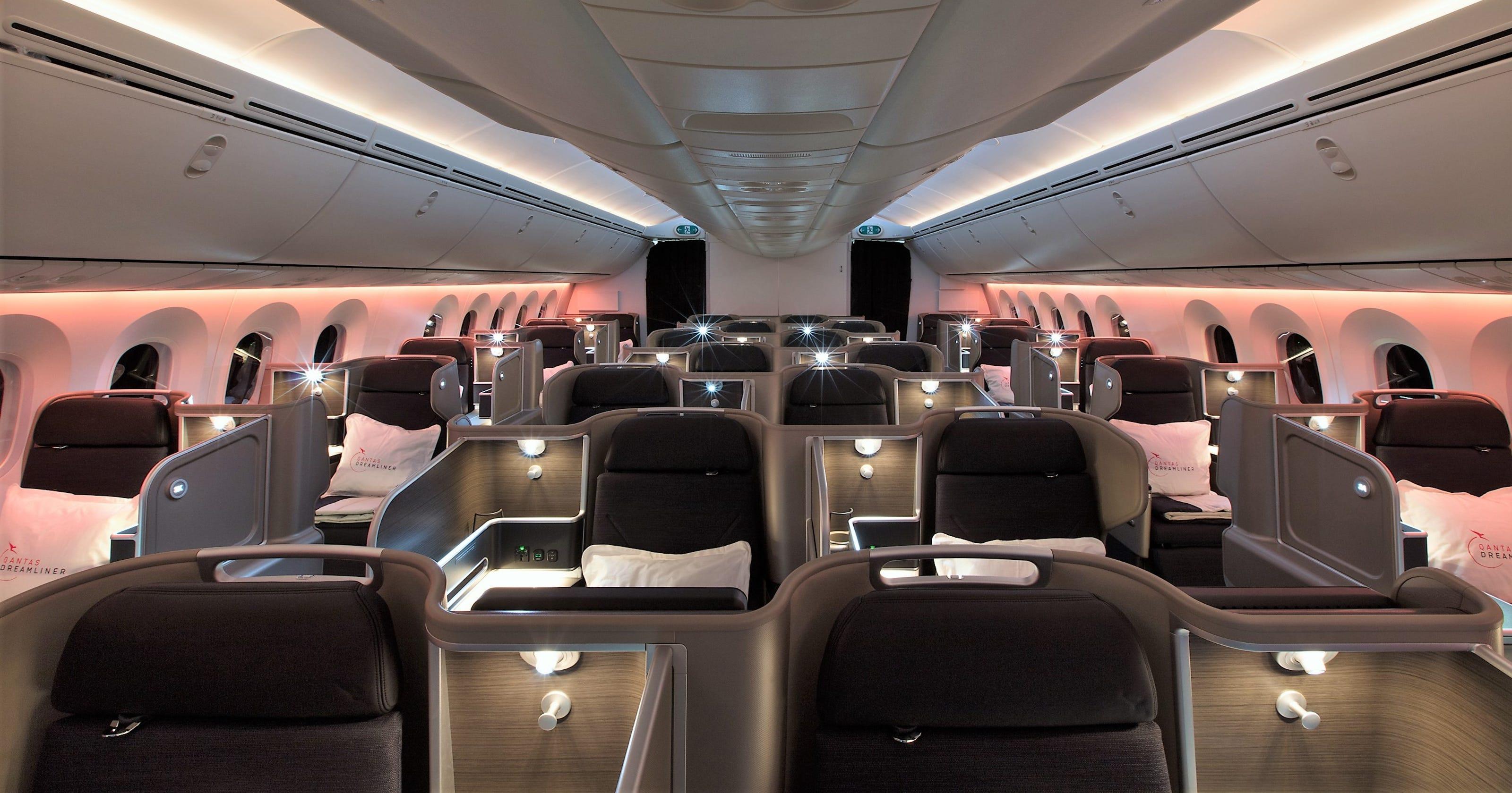 Qantas unveils its first 787 9 dreamliner publicscrutiny Images