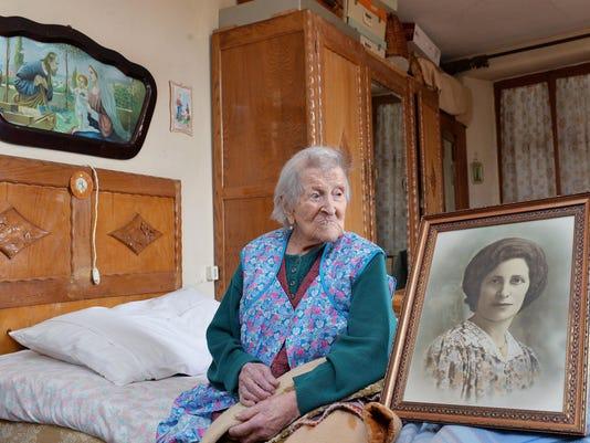 EPA (FILE) ITALY PEOPLE OLDEST PERSON DEAD HUM PEOPLE ITA PI