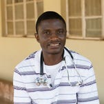 Dr. Martin Salia in Freetown, Sierra Leone.