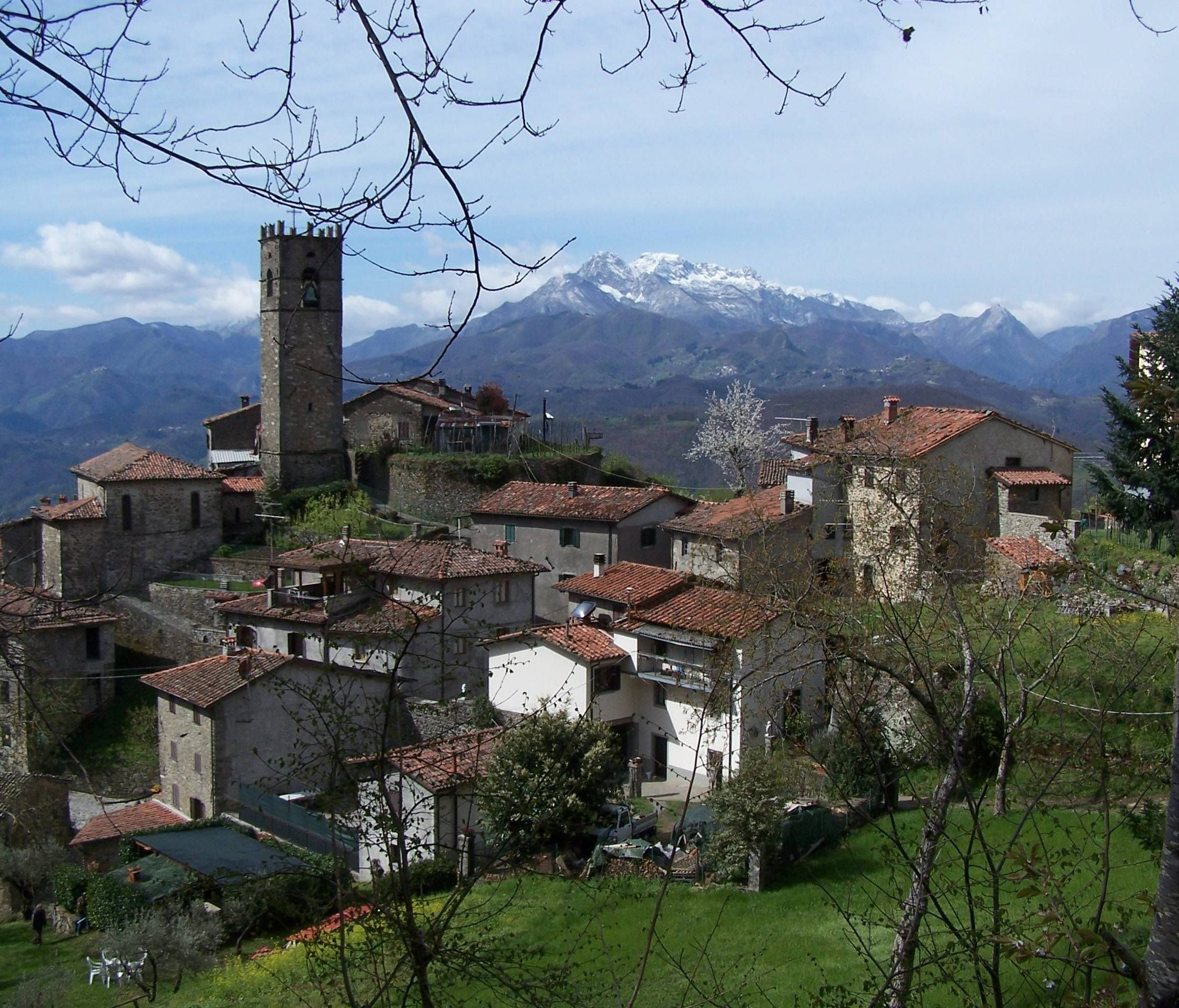 Lupinaia, population 67, features a soaring, turreted bell tower and hosts an annual chestnut harvest that draws thousands of culinary pilgrims each November.