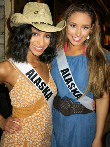 The Miss USA/Miss Teen USA welcome party was May 13,