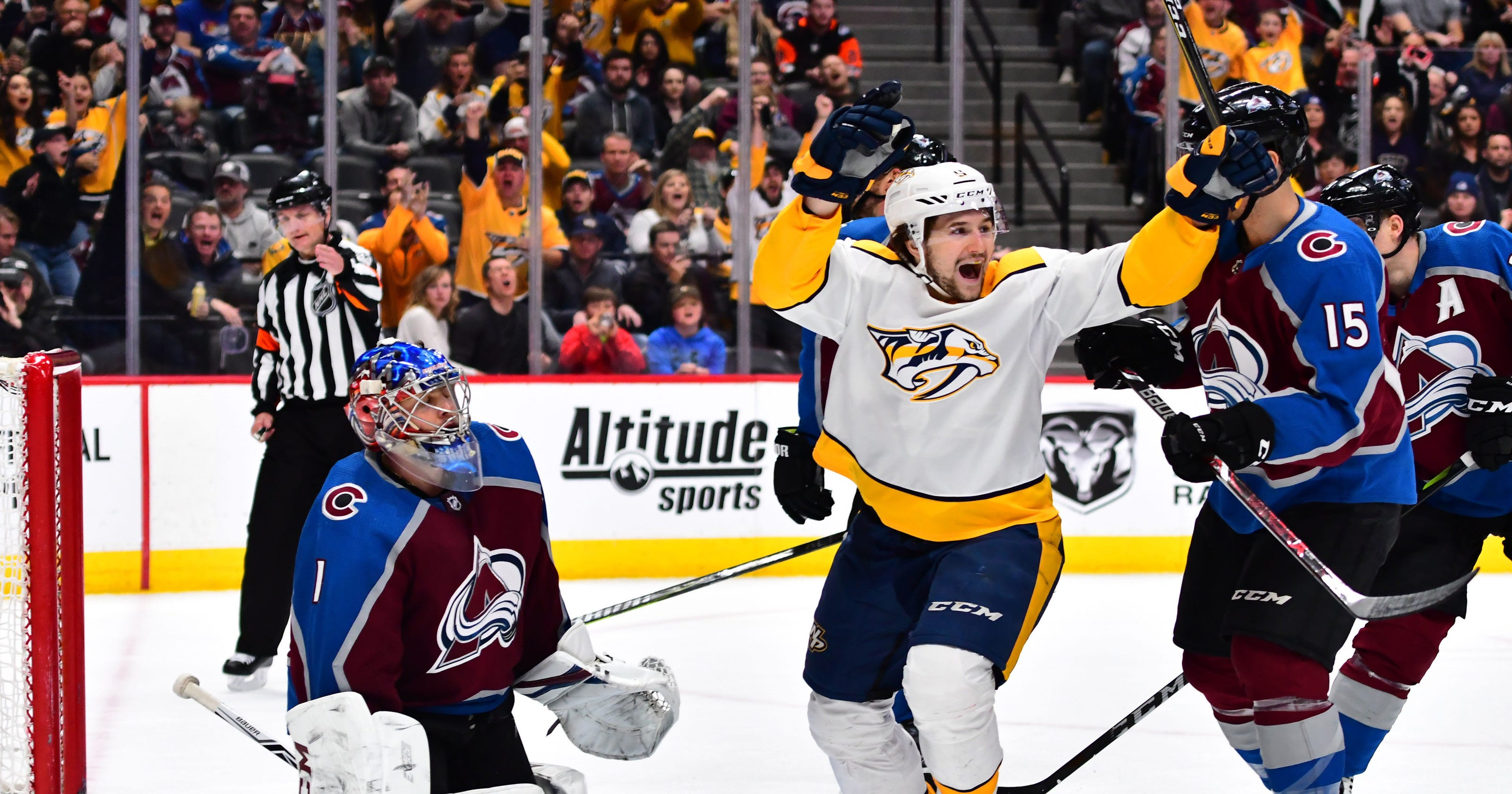 Predators will be tested by upstart Colorado Avalanche in first round of  Stanley Cup playoffs c9d2282a7