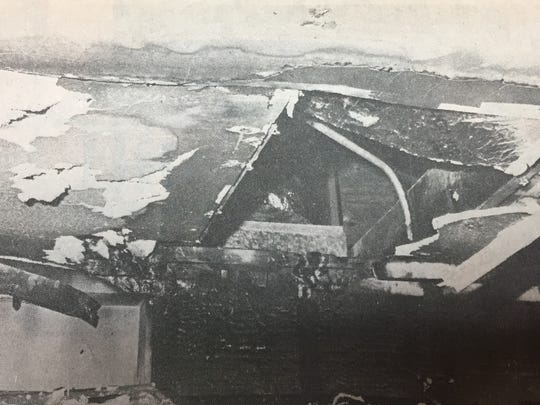 Arson was ruled the cause of a fire that gutted The Hitching Post Restaurant near Sturgis in January 1980.