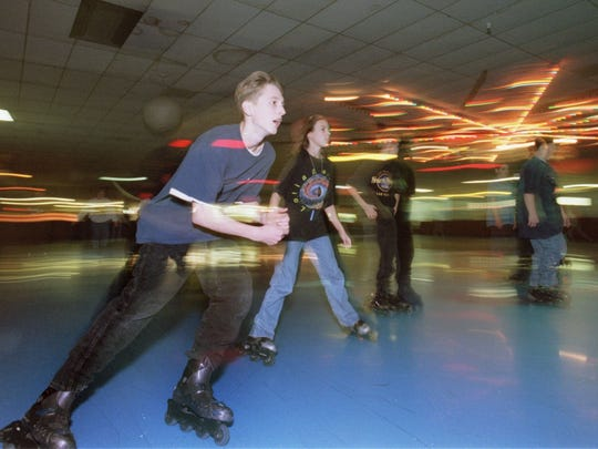 "Teens won't be on the floor Tuesday at Skatin' Place; it's ""Adult Night."""