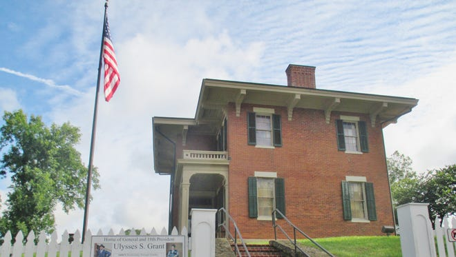 Gen. Ulysses S. Grant was probably the happiest living in this house in Galena, Illinois.