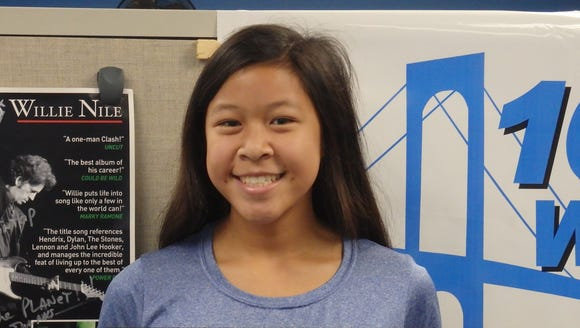 Hen Hud libero Pamela Loh is the Con Edison Athlete