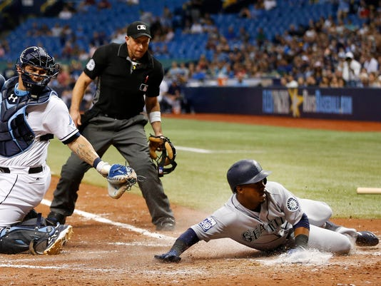 MLB: Seattle Mariners at Tampa Bay Rays