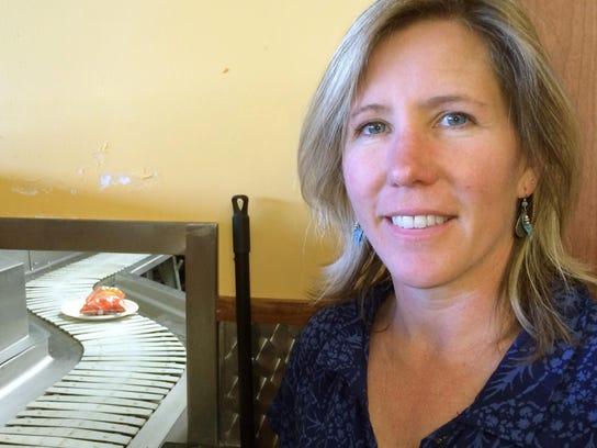 Cheryl Morse, University of Vermont professor, works