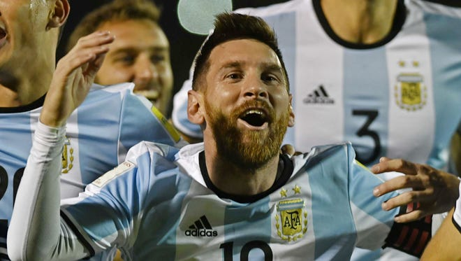 Lionel Messi is entering his fourth World Cup in search of his first title.