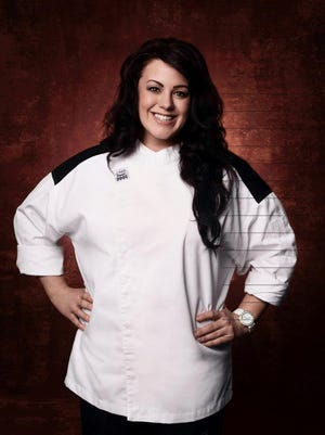 Chef Kimberly Roth of Ontario, Wayne County, will appear on Hell's Kitchen on Fox.