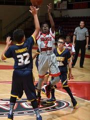 The Arkansas Rising Stars and Riverside Hawks face