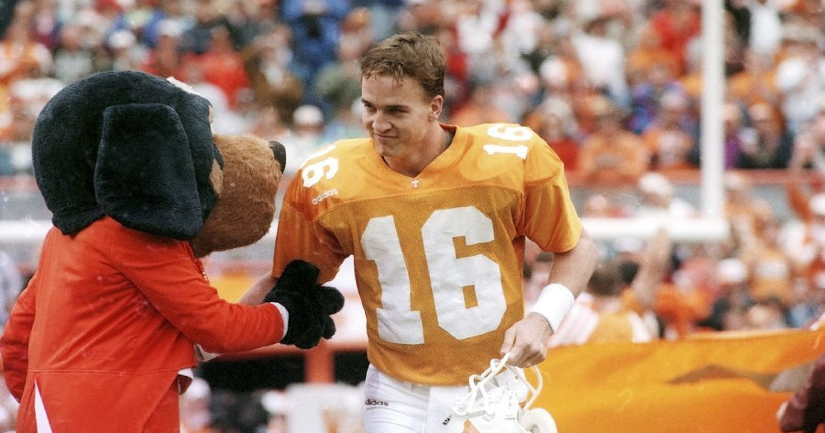 half off b5982 743ef Peyton Manning's legacy took off at Tennessee