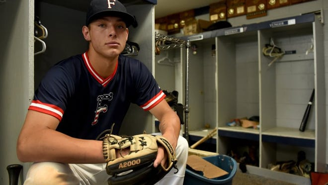 Farragut shortstop Duncan Pence is the PrepXtra baseball player of the year Tuesday, June 14, 2016. (MICHAEL PATRICK/NEWS SENTINEL)