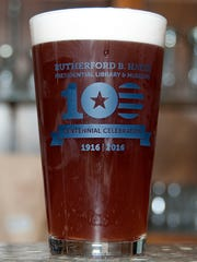 Catawba Island Brewing Company brewed a 3.7% ABV wheat ale with berries and peaches called the Presidential Ale for the Rutherford B. Hayes Presidential Library and Museum's 100th anniversary celebration.