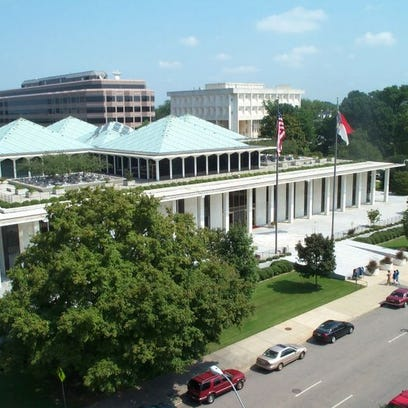 The state Legislative Building in Raleigh