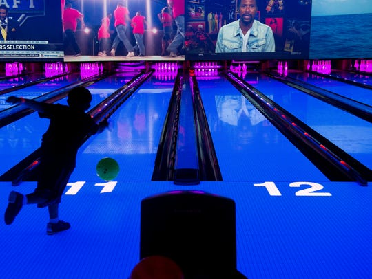 The state-of-the-art bowling alley inside Main Event