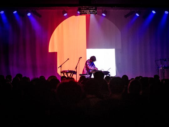 Kelly Lee Owens performs at The Mill & Mine as part