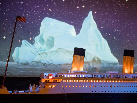 Brynjar Karl Birgisson from Iceland created a 26-foot long Titanic model out of 56,000 Lego bricks. The model is the world's largest Titanic Lego replica and can be seen at the Titanic Museum Attraction in Pigeon Forge.