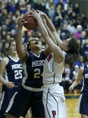 Mercy's Traiva Breedlove and Penfield's Baylee Teal