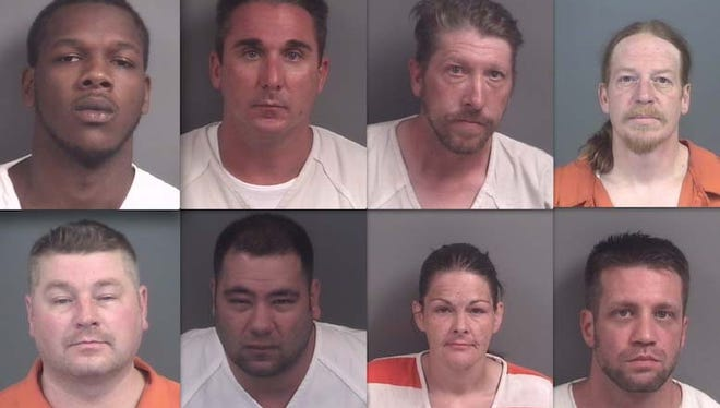Top row, from left: Muhammad-Yasin Abdur-Rahim, Jeffrey Klaassen, Kevin Beebe and Keith O'Farrell. Bottom: Brent Fern, Travis Gilbert, Mandy Rope and Kevin Albers.