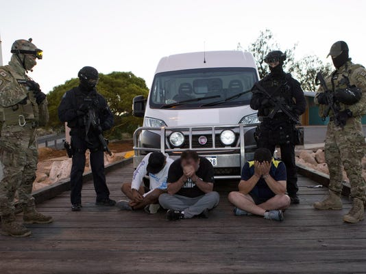 EPA AUSTRALIA CRIME DRUGS CLJ CRIME AUS WE