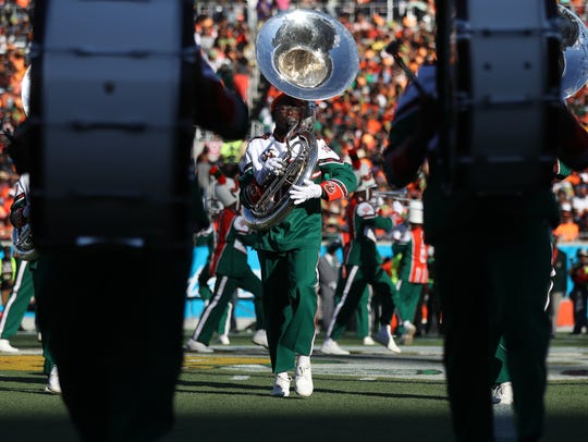 The bands steal the show as FAMU takes on Bethune-Cookman