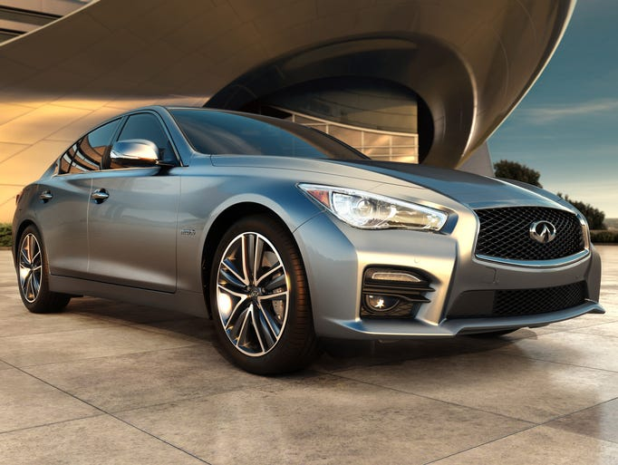 Inifiniti's redesigned 2014 Q50 sedan went on sale in the U.S. since July at a slightly lower price than the outgoing model. It is the new version of the current G37 and is the first Infiniti renamed in the move to all Q (car) and QX (crossover) names.