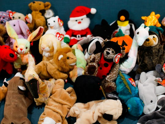 More than 300 Beanie Babies were donated to Harmony