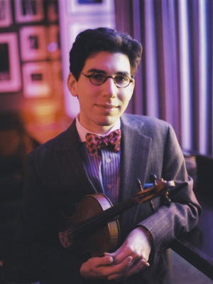 Aaron Weinstein, America's leading proponent of jazz violin, will host Axelrod Performing Arts Center's Sheldon Harnick tribute.