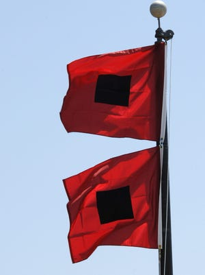 Hurricane flags