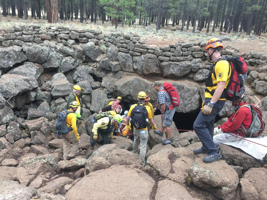 Coconino County Sheriff's Office rescues hikers